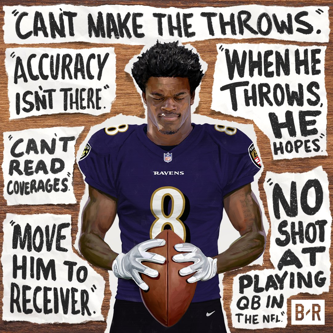 Lamar Jackson is ready to prove the doubters wrong in Baltimore!