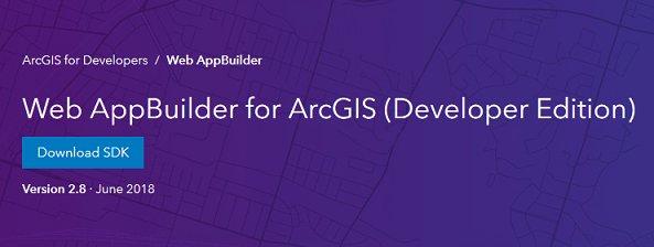 FYI: #WebAppBuilder for #ArcGIS Developer Edition v2.8 now available!!  https:// bit.ly/2FlkKLe  &nbsp;   #developers #JavaScript #API #webapp #esri #GIS #mapping #maps @Esri @ArcGISJSAPI @EsriGeoDev<br>http://pic.twitter.com/VbQ9EtF87Y
