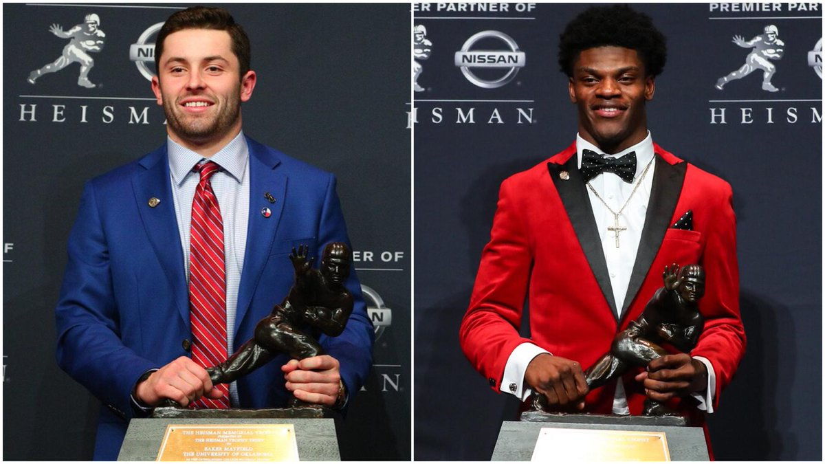The first round ended just as it began.  With a Heisman winner.