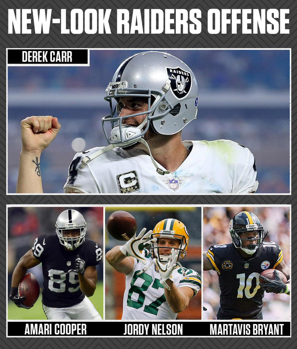 Derek Carr is gonna have himself some weapons at WR. 👀