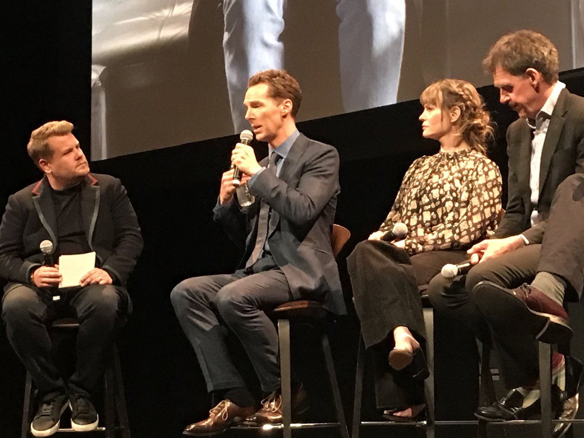 """784f8cfd3edc  BenedictCumberbatch describes  PatrickMelrose s way of walking while on  drugs as """"wading through marshmallows.""""  Showtime"""