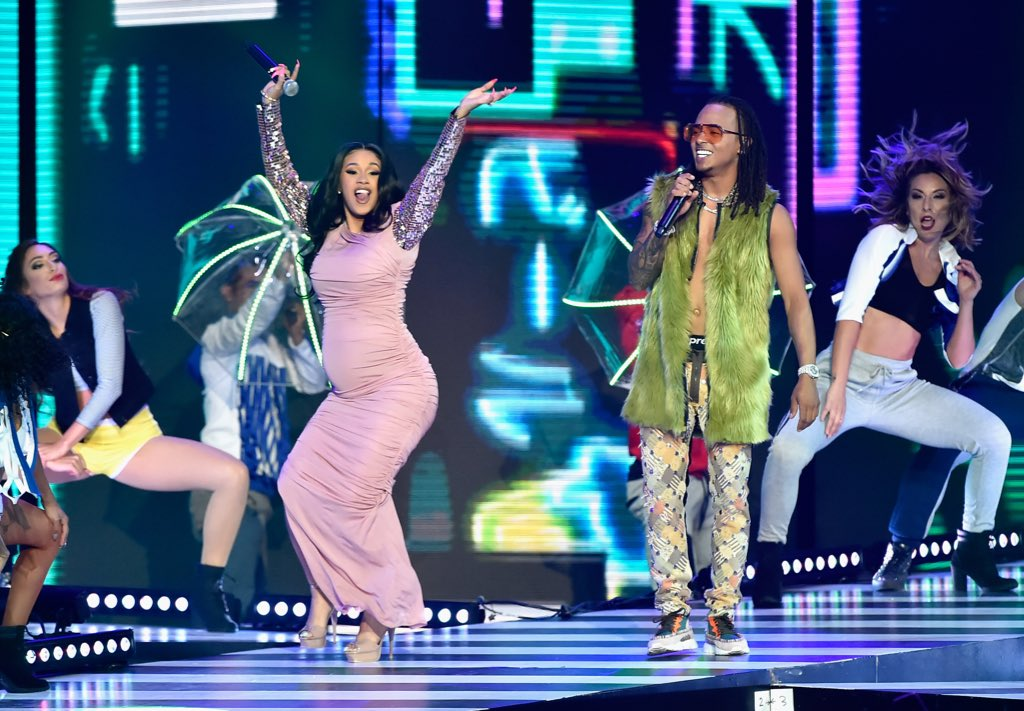 YES @iamcardib!  was living h #BestLifeer  perform #LaModeloing  at tonig @LatinBillboardsht's  @Ozuna_Pr wit #Billboards2018h  😍😍😍  (photo: Getty Images)