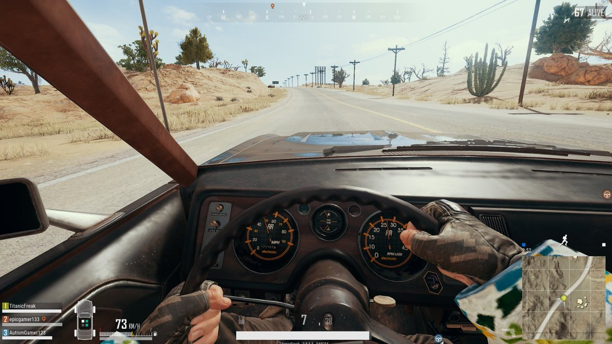 Ryan Titanicfreak On Twitter This New Muscle Car In Pubg Is
