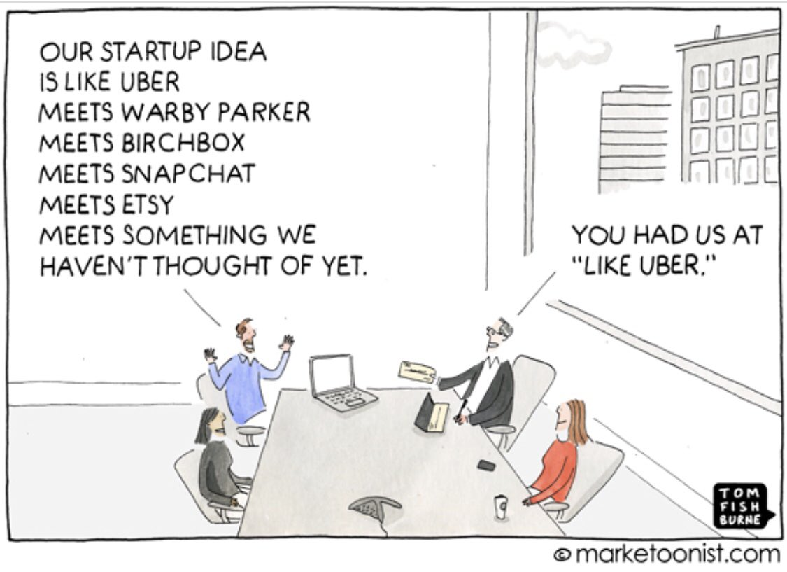 """You had us at """"like Uber""""  Need we say more  . . . #business #innovation #life #martech #startup #entrepreneur #CEO #startup #startuplife #leader #leaders #leadership #powerful #successful #technology #marketing @Uber @WarbyParker @Snapchat @Etsy @birchbox Repost @tomfishburne<br>http://pic.twitter.com/Piam5LCVkY"""