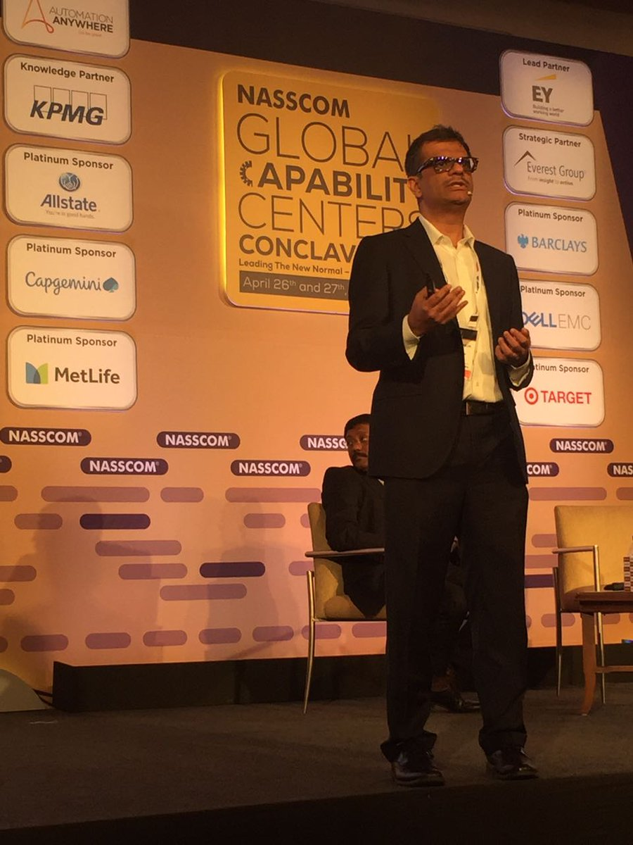 The new #Banking model will rely on an extension of #digital identity and trust beyond the banking experience: Mahesh Makhija, Partner, Advisory Services, EY. #nasscomGCC @nasscom @NasscomEvents #digitalbanking<br>http://pic.twitter.com/qzEJvs7NmP