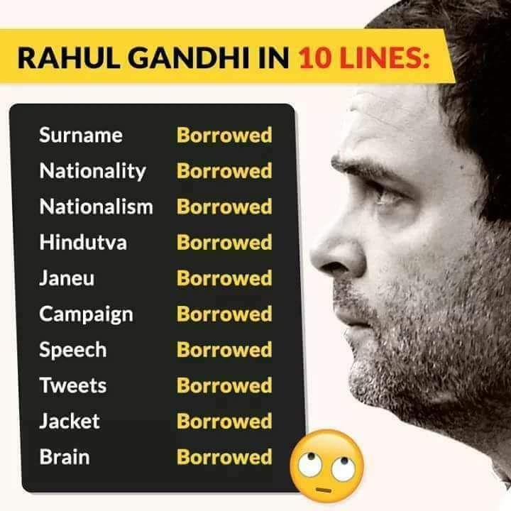 How true this is....   @RahulGandhi https://t.co/QREmQdGhOA