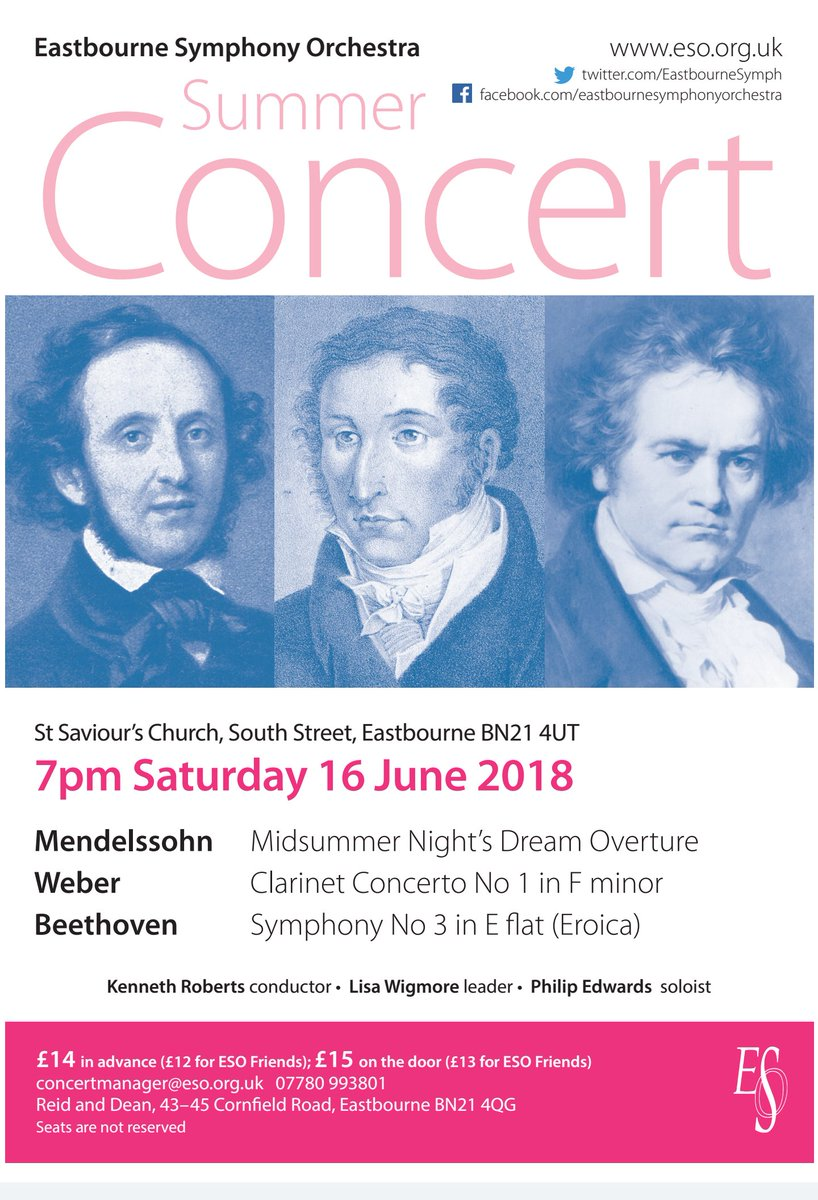 Eastbourne Symphony Orchestra (@EastbourneSymph) | Twitter