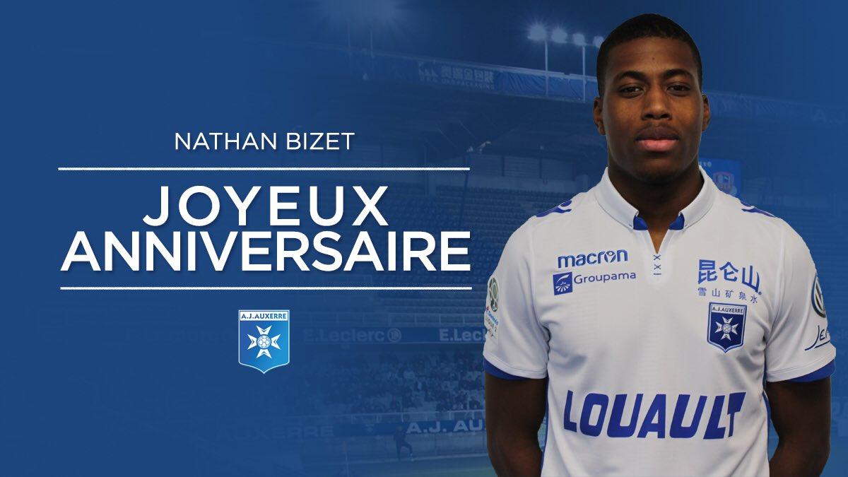 Aj Auxerre On Twitter Joyeux Anniversaire Bizet Nathan