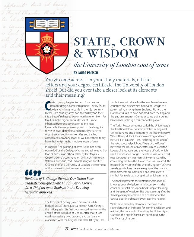 """University of London ar Twitter: """"'The state, the sovereign"""
