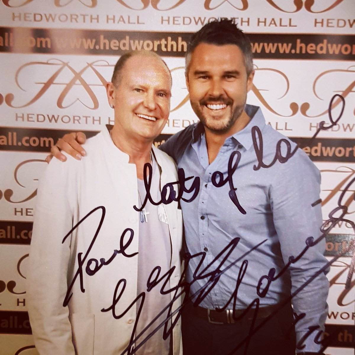 paul gascoigne on twitter cheers pete top man you definitely know