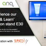 ANQ are collaborating with @SkratchAV this year @rbtexpo showcasing, among other things, our 'Lift & Learn' solution on their stand. Visit us on stand E30 to discuss how we can support you in creating your store or fixture of the future.    #Digital #Retail #Innovation #RBTE2018