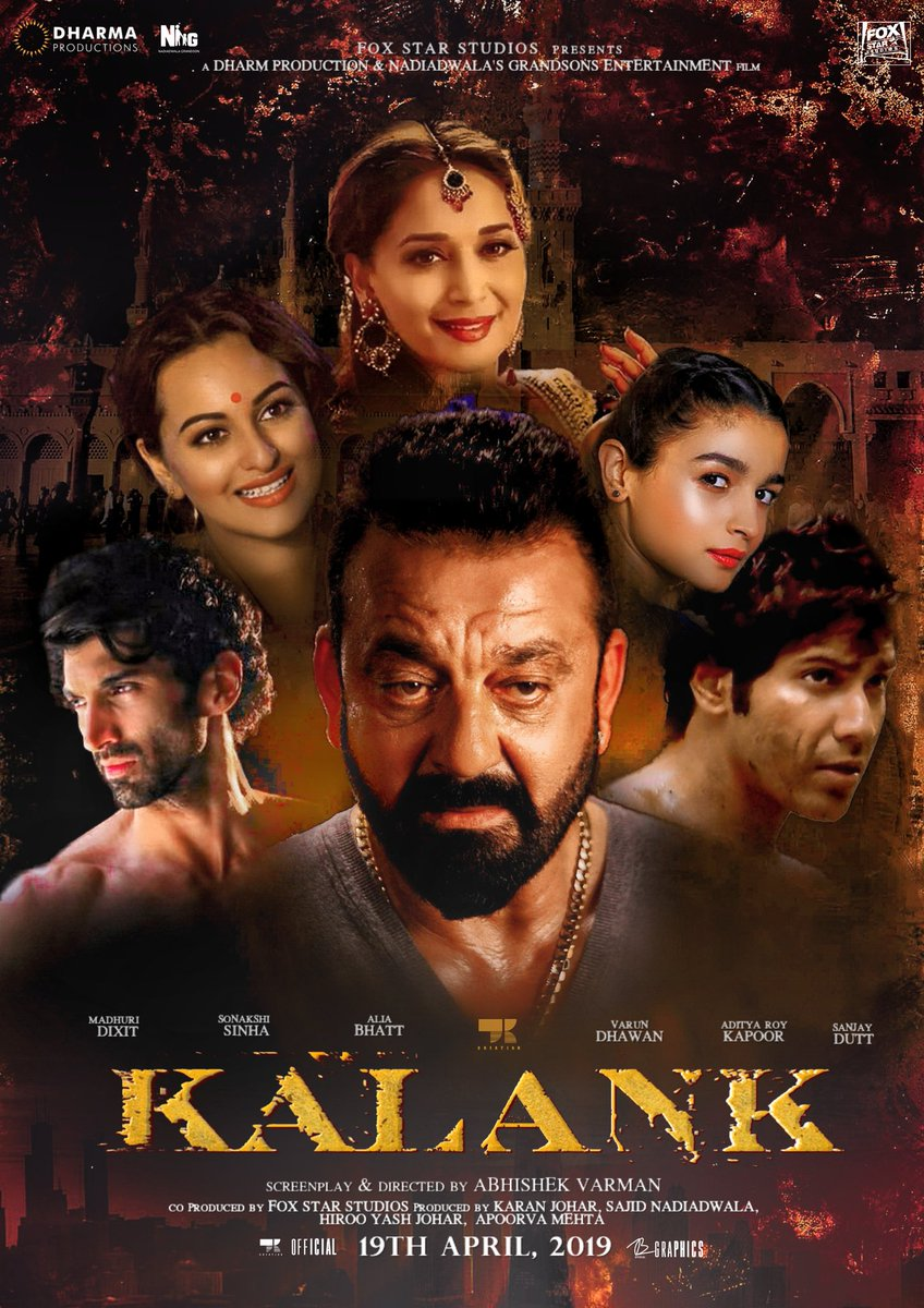 Kalank First Look