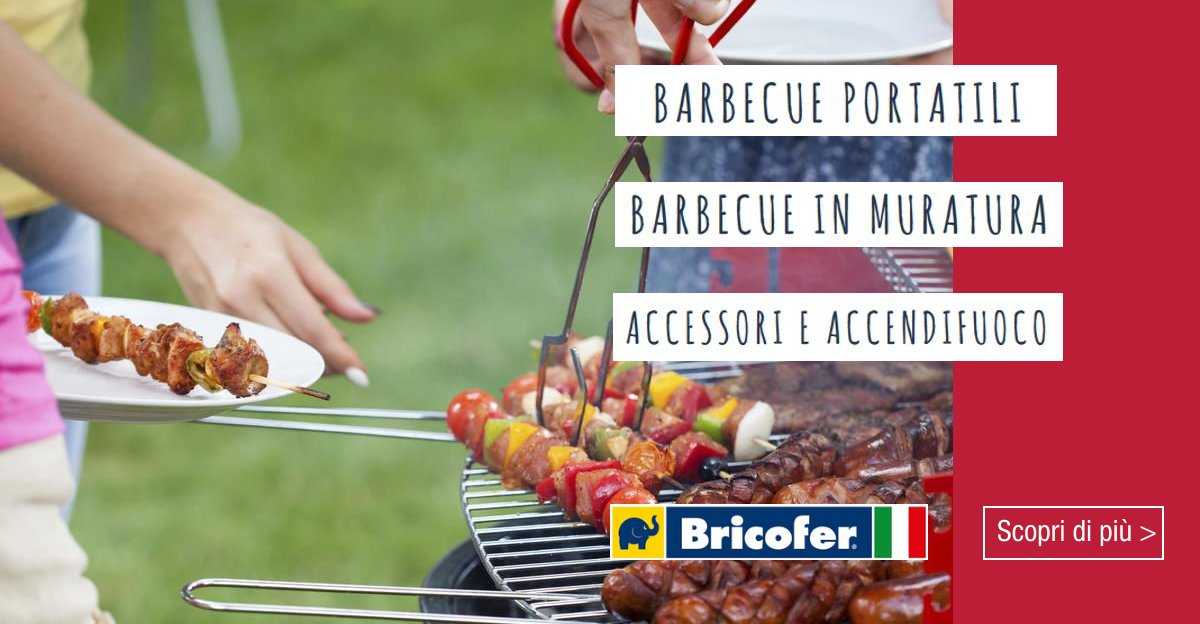 Bricofer italia bricofer twitter for Barbecue bricofer
