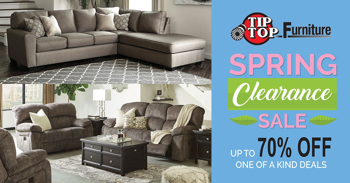 For A Limited Time, Save Up To 70% OFF On One Of A Kind Deals! SAVE On  #AshleySofas, #sectionals, #sofasleepers And #loveseats, ...