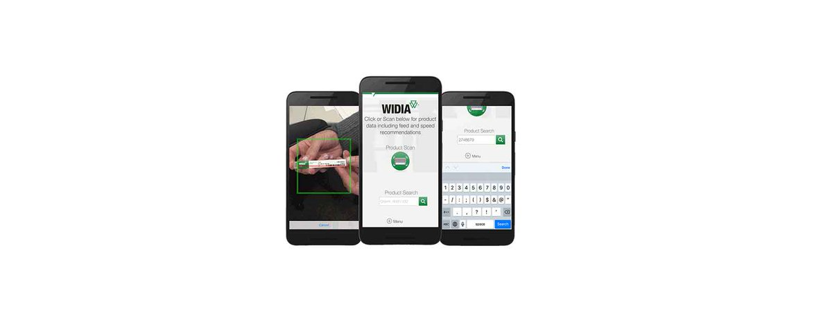 Delightful Feeds, Speeds, And Product Dimensional Data In The Palm Of Your Hand. Learn  More About WIDIAu0027s Machining Central App In The Full Press Release. ...