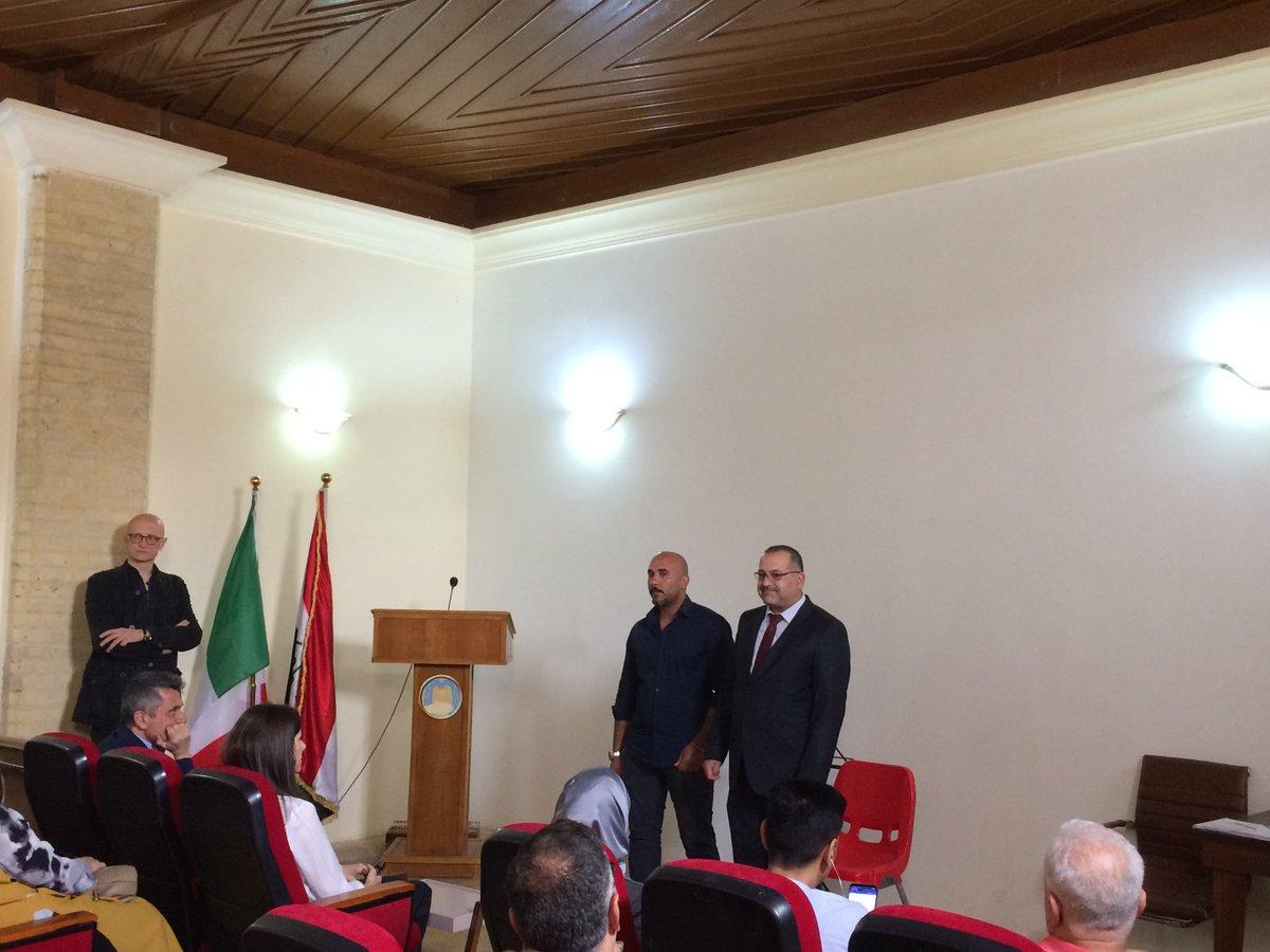 Italy in Iraq on Twitter: