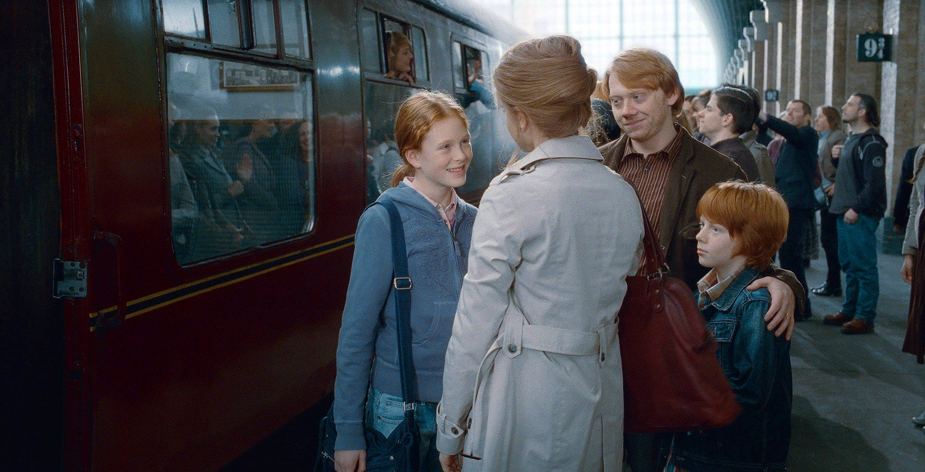 Marry hermione why ron did J.K. Rowling
