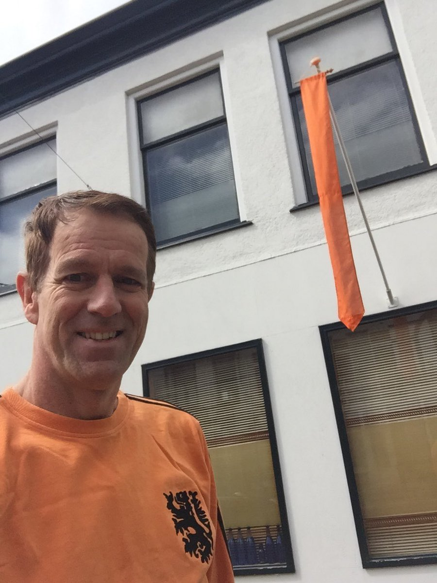 Ready for #Kingsday / #Koningsdag.  #Oranje74 #Holland #Oranje https://t.co/i1mPgMmbE2