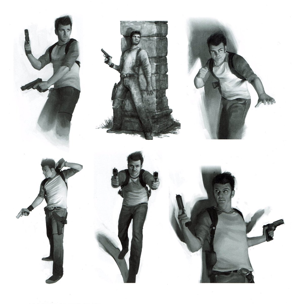 Videogameart Tidbits On Twitter Uncharted Drake S Fortune