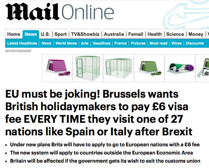 Brexit latest: Outrage as people who voted to abolish free movement discover that abolishing free movement means movement will no longer be free.