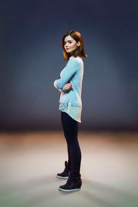 Happy Birthday to Clara Oswald herself, the wonderful, Jenna Coleman!
