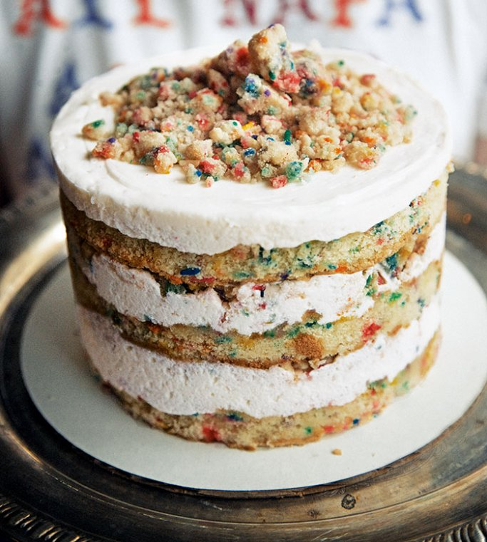 Cereal Milk Should Go In EVERYTHING So Were Turning To Her Baking Book Momofoku Bar Crack Pie Compost Cookie And THAT Birthday Cake All