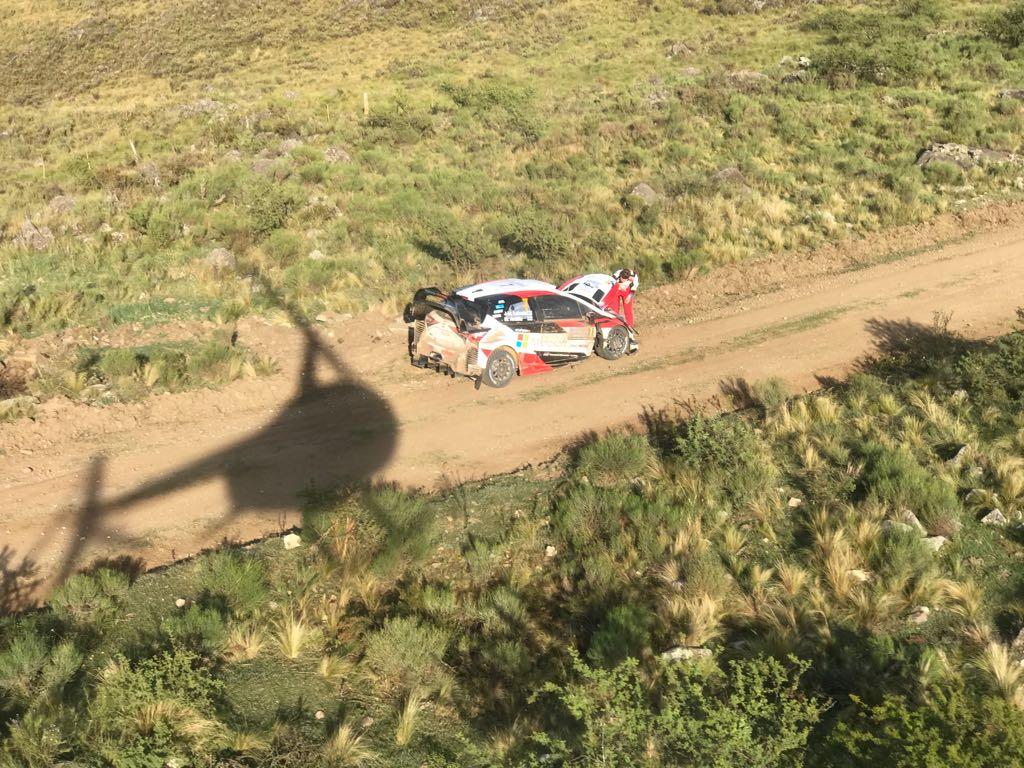 Rally Argentina | Abandonó Latvala