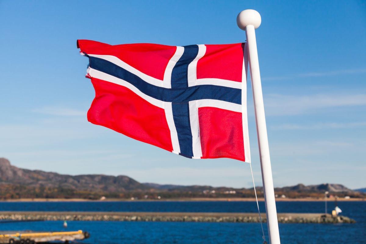 Флаг норвегии фото картинки