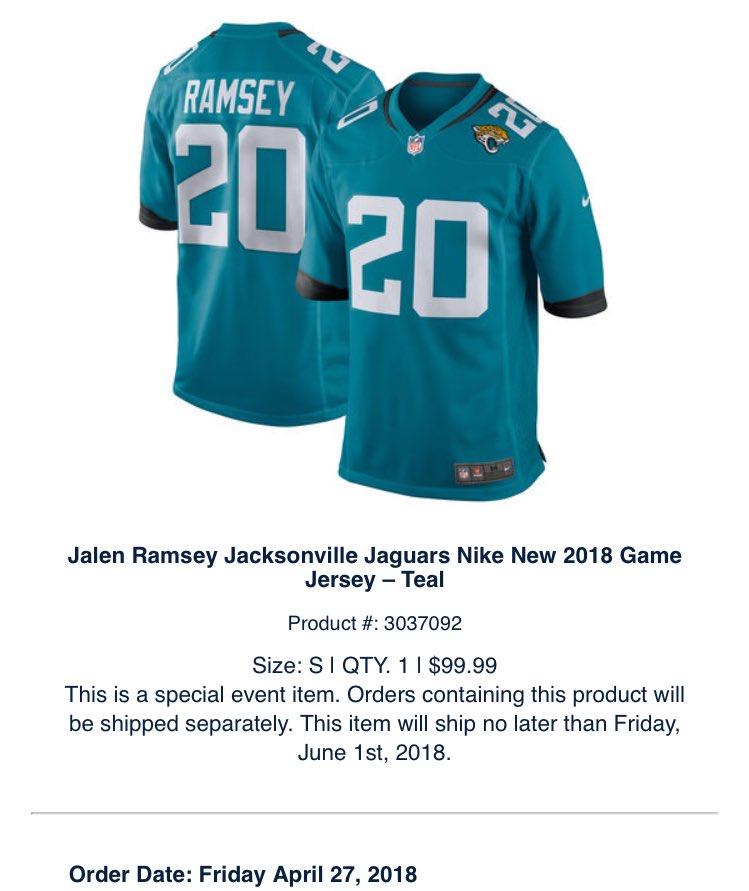 0617c70d4 Jalen Ramsey on Twitter: