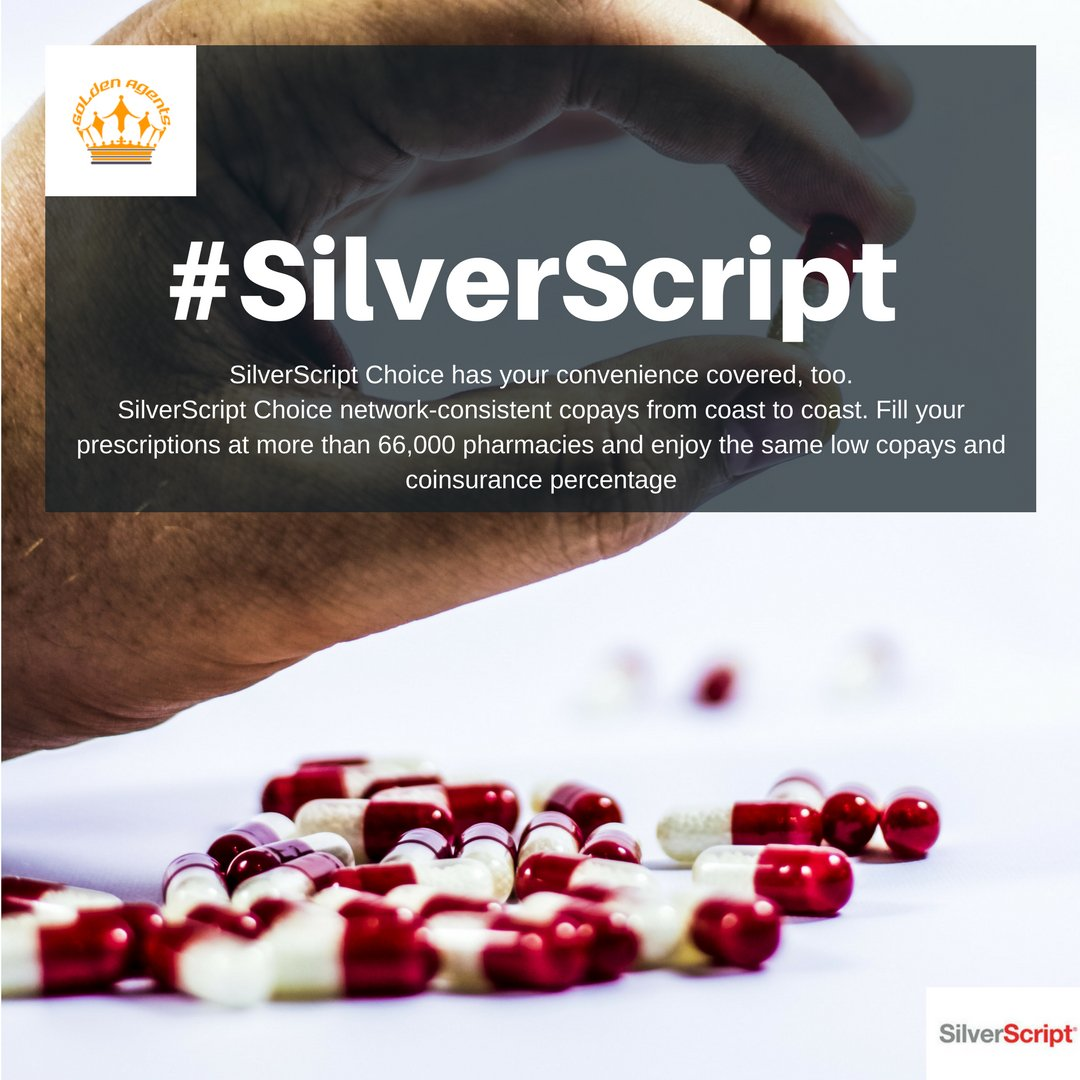 SilverScript Choice Network Consistent Copays From Coast To Coast. Fill  Your Prescriptions At More Than 66,000 Pharmacies And Enjoy The Same Low  Copays And ...