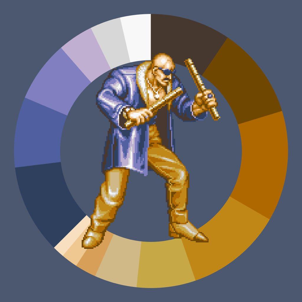 Game Color Wheel On Twitter Mr Big From Art Of Fighting Gamecolorwheel Pixelart Snk Arcade Https T Co Ragr3ngkdi