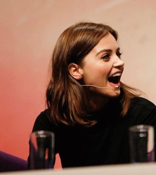 Happy birthday to the most adorable and angelic woman that is Jenna Coleman