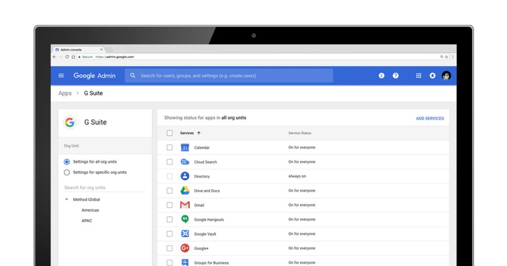 how to create a new organisation in gsuite admin