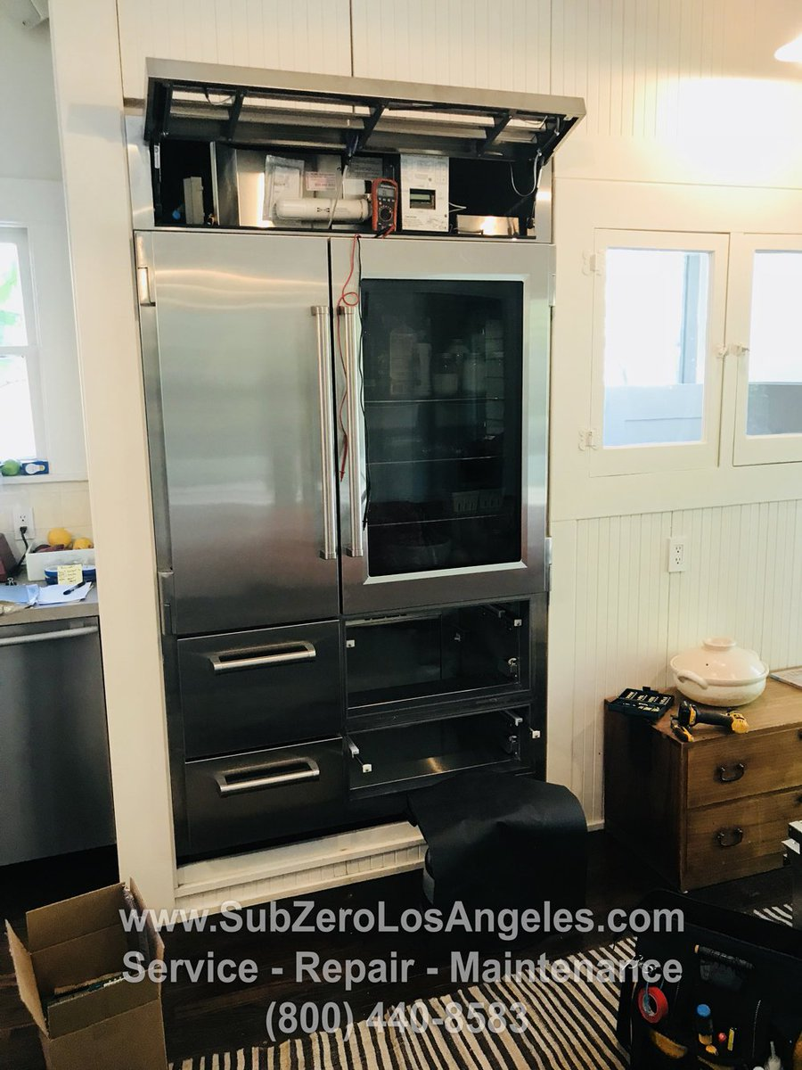 "Sub Zero Glass Door Refrigerator acme sub zero repair on twitter: ""sub-zero pro 48 with glass"