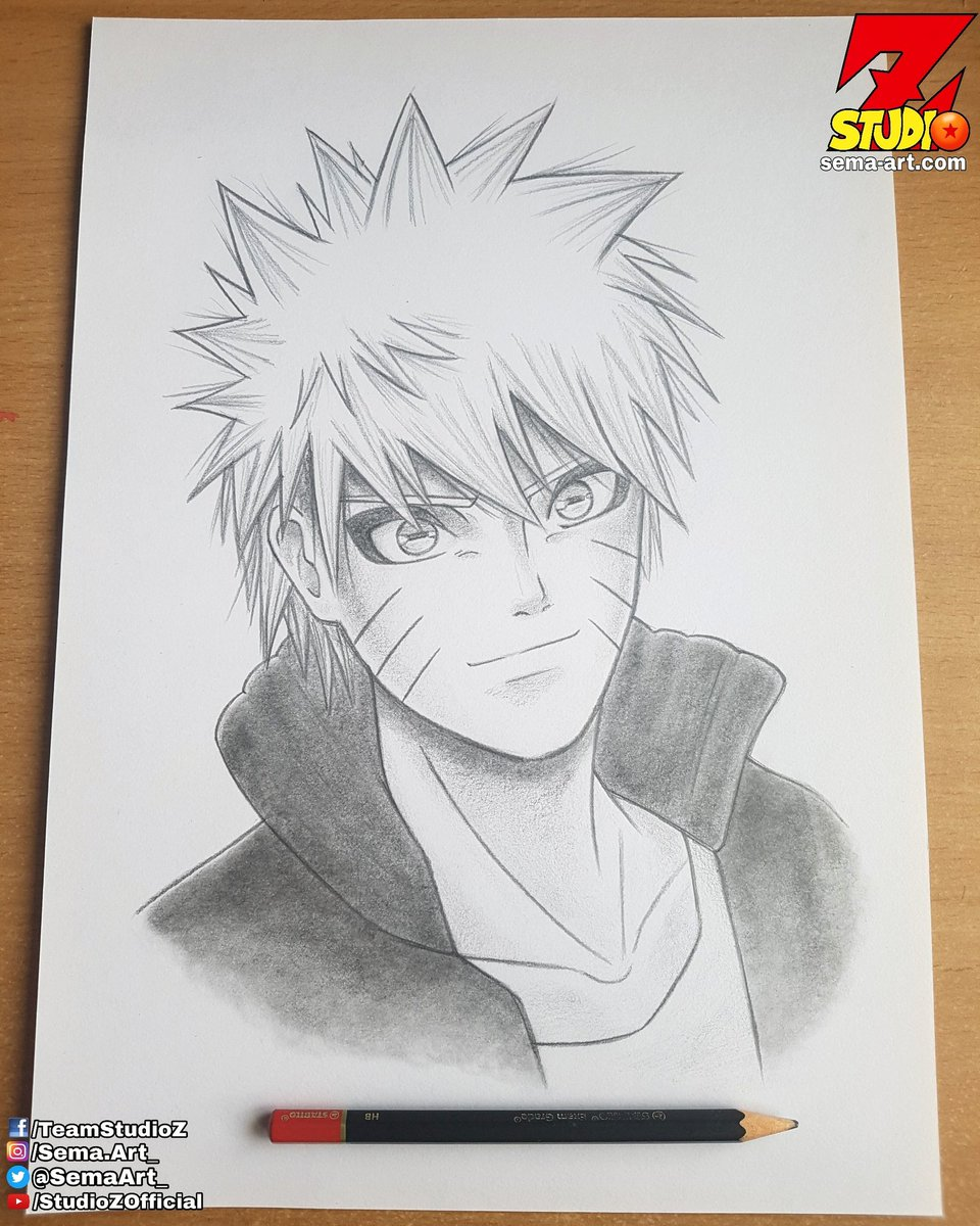 Sema cimen on twitter naruto pencil drawing naruto uzumaki 岸本斉史 shonenjump anime manga sketch https t co 23kzmnwzei