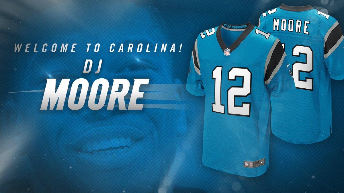 buy popular 037e0 49cb9 Carolina Panthers on Twitter: