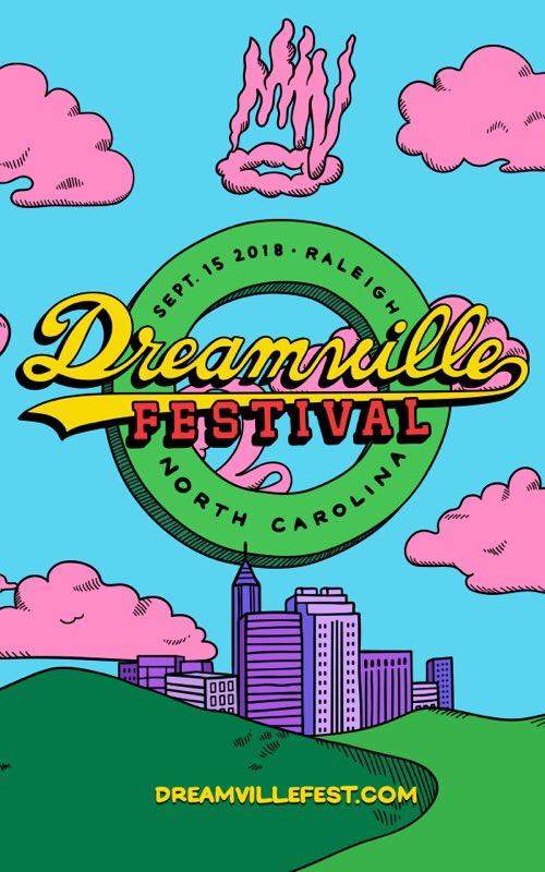 Dreamville Festival. @Dreamvillefest. September 15th. Raleigh, NC. Get pre sale access at https://t.co/znuqkbk0hp https://t.co/0m9XIgRPqD