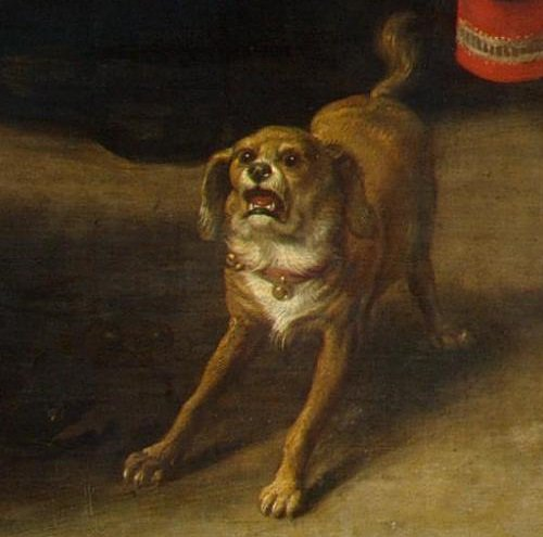 Image result for the dog in renaissance painting
