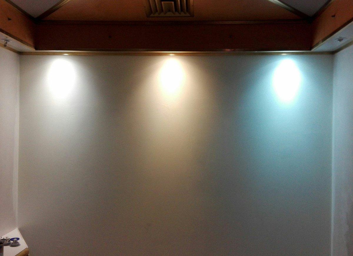 Luce calda o luce fredda. vtac lampada parete applique led uso