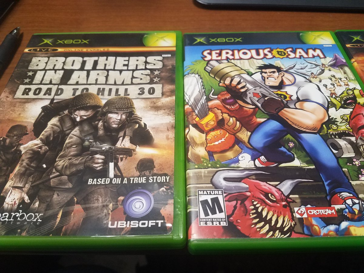 Xbox games rated mature