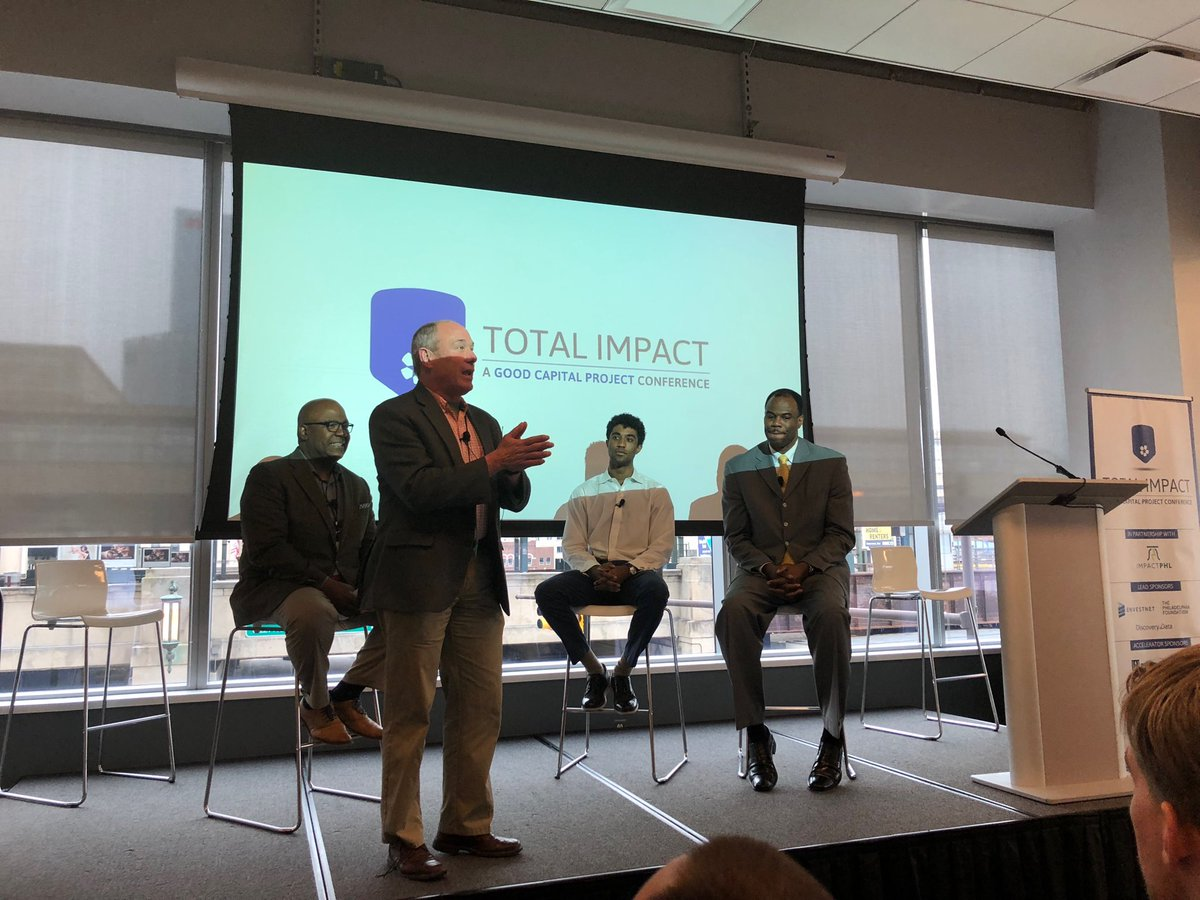 Excited for our co-founder @DavidtheAdmiral to speak at Impact Philly about @AdmiralCapital and our mission.