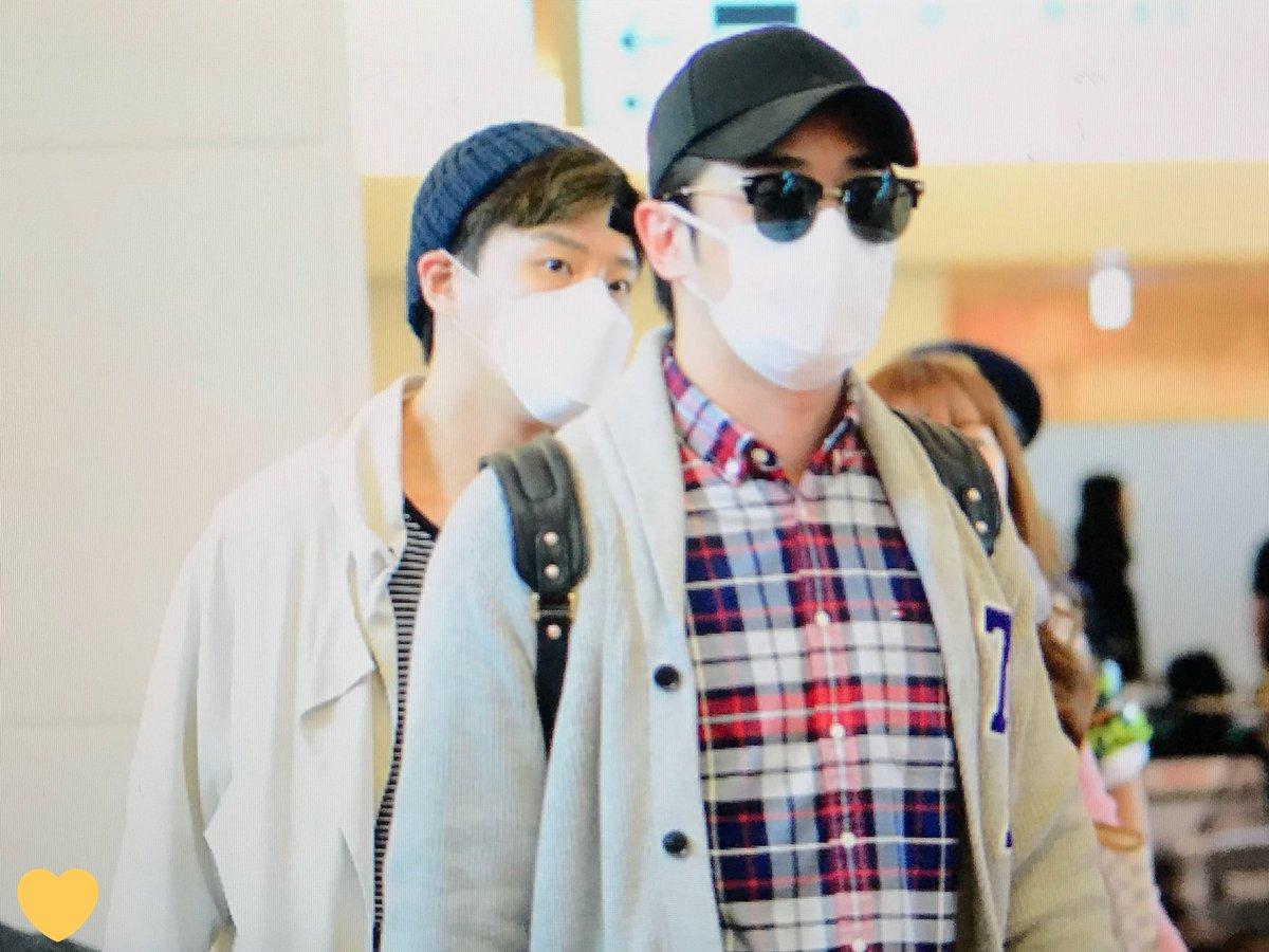 [ F.Cuz] YeJun  &JinOn  Aeropuerto PRE : 180427 HND DbzocRWVMAAojxr