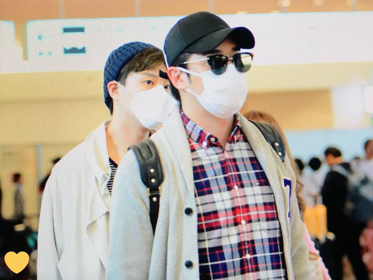 [ F.Cuz] YeJun  &JinOn  Aeropuerto PRE : 180427 HND DbzocaDVMAAeTQt