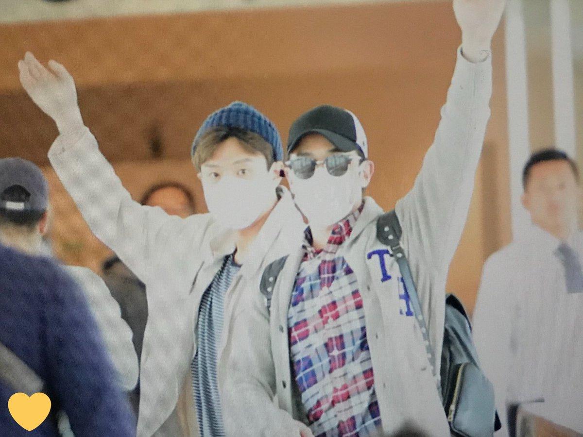 [ F.Cuz] YeJun  &JinOn  Aeropuerto PRE : 180427 HND DbzpJIJVwAIpeX9