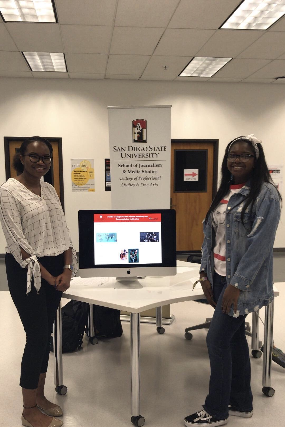 Sdsu Admissions On Twitter Students From Various Sdsu Colleges Are Showcasing Their Class Projects At The Dhatsdsu Showcase Until 2 P M In La 61 Sdsu Love Library Dome Be Sure To Check