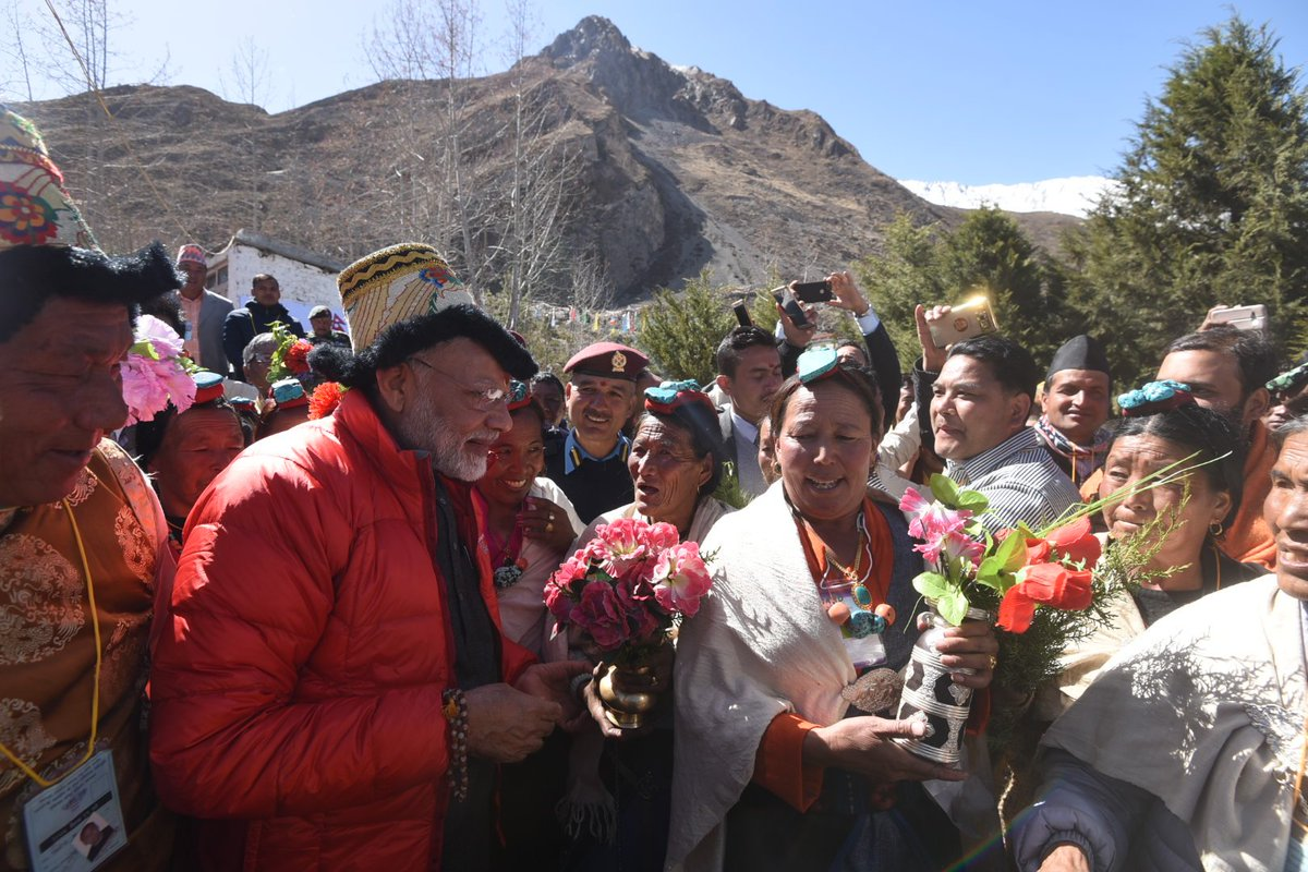 PM Narendra Modi Offers Prayer At Iconic Muktinath Temple
