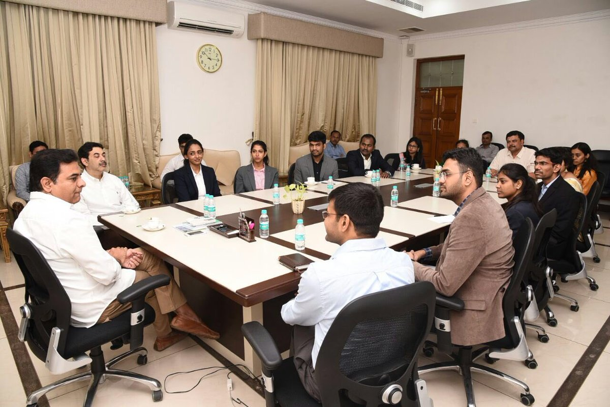 KTR launched fellowship program of State Innovation Cell