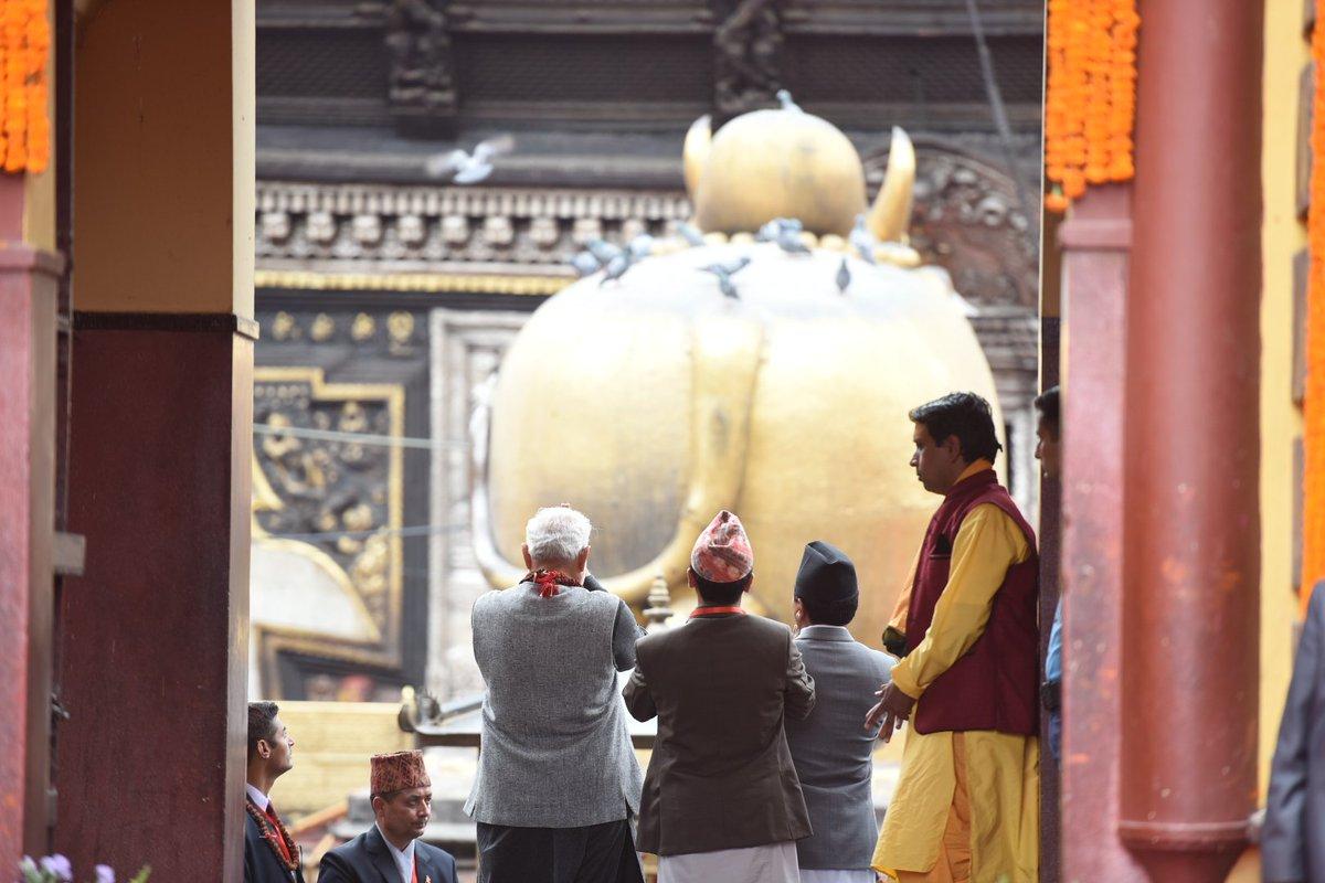 Nepal PM tweets in PM Modi's mother tongue Gujarati