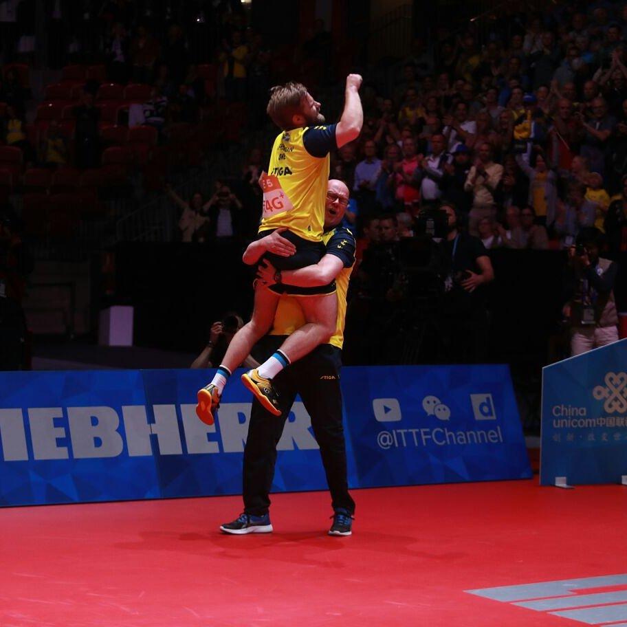 That #weekend feeling ✊ #ITTFWorlds2018