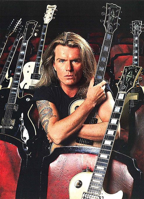 Happy 57th Birthday To Billy Duffy - The Cult